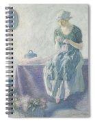 Myron G. Barlow 1873 - 1937 Peasant Sewing Spiral Notebook