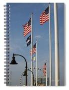 Myrtle Beach Boardwalk II Spiral Notebook