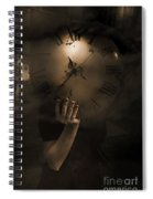 Mysteries Of Time Spiral Notebook