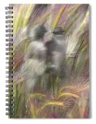 Mysterious Couple Spiral Notebook