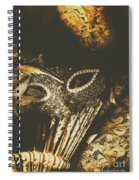Mysterious Disguise Spiral Notebook