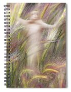 Mysterious Lady 2 Spiral Notebook