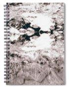 Mysterious Waterline Spiral Notebook
