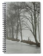 Mysterious Winter  Spiral Notebook