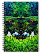 Mysterious Woods Spiral Notebook
