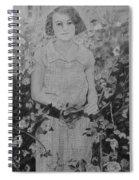 Mystery Lady Spiral Notebook