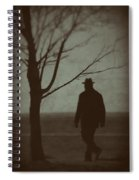 Mystery Man Spiral Notebook