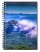 Mystery Of Looking Glass Rock Spiral Notebook