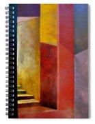 Mystery Stairway Spiral Notebook
