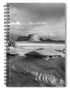 Mystery Valley Overlook Ir 0550 Spiral Notebook
