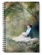Mystic Contemplation Spiral Notebook