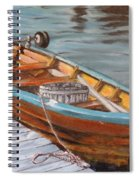Mystic Fishing Boat Spiral Notebook