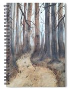 Mystic Forest Spiral Notebook