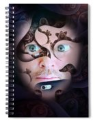 Mystic Gaze Spiral Notebook