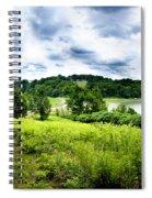 Mystic Hillside Spiral Notebook