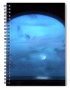 Mystic Moonrise Spiral Notebook