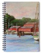 Mystic River Argia Spiral Notebook