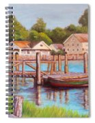Mystic River View Spiral Notebook