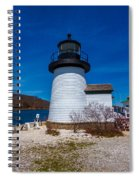 Mystic Seaport Lighthouse Spiral Notebook