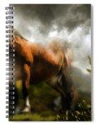 Mystic Visitor Spiral Notebook