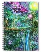Mystic Waterfall Spiral Notebook