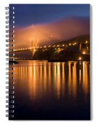 Mystical Golden Gate Bridge Spiral Notebook