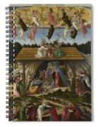Mystical Nativity Spiral Notebook