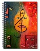 Mystical Notes Spiral Notebook