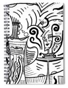 Mystical Powers - Surrealism Spiral Notebook