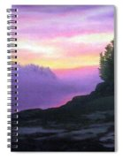 Mystical Sunset Spiral Notebook