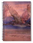 Mystical Trio Spiral Notebook