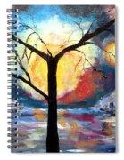 Mystical Twilight Forest Spiral Notebook