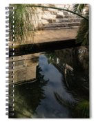 Mythical Arethusa - Wild Papyrus And Frieze Reflections Spiral Notebook