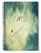 Mythical Dragon Spiral Notebook