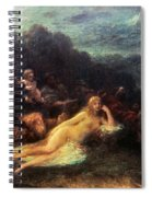 Mythology: Helen Of Troy Spiral Notebook