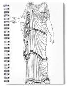 Mythology: Hera/juno Spiral Notebook