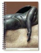 Mythology: Sleeping Eros Spiral Notebook