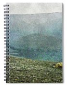 Myvatn Mooncrater Spiral Notebook