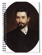N Fitner Opera Signer Konstantin Makovsky Spiral Notebook