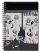 N Y C Kermit Spiral Notebook