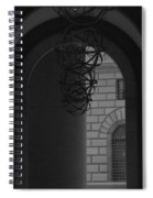 N Y C Lighted Arch Spiral Notebook
