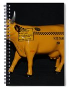 N Y C  Taxi Cow Spiral Notebook