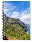 Na Pali Coast Kauai Spiral Notebook