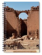 Nabatean's Ruins Spiral Notebook