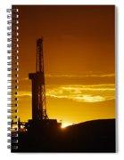 Nabors B-18 Williston North Dakota Spiral Notebook
