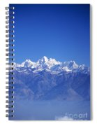 Nagarkot View Spiral Notebook
