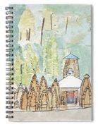 Nagesh Jyotirling Spiral Notebook
