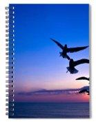 Nags Head Sunrise Spiral Notebook