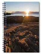 Nahant Ma Castle Rock Carved Rock Spiral Notebook