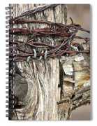 Nails And Wire Spiral Notebook